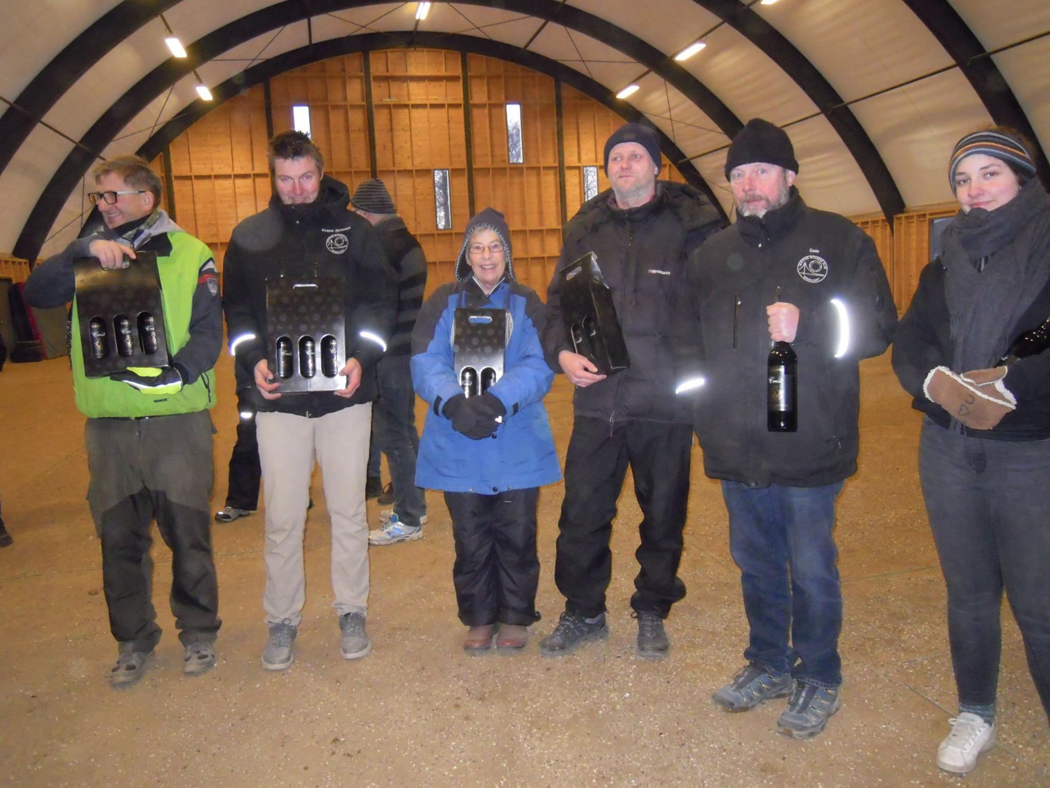 nr. 1Jens Erik Bull og Kasper Sørensen Vestfyn nr. 2 Sissel Bryhn ióg Mikkel Pedersen Lynge nr. 3 Jesper Sele og Katrine Junge Vestfyn