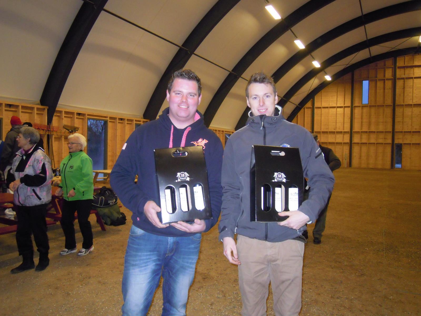 Christoffer Barfod og Brian Jacobsen FCKliken
