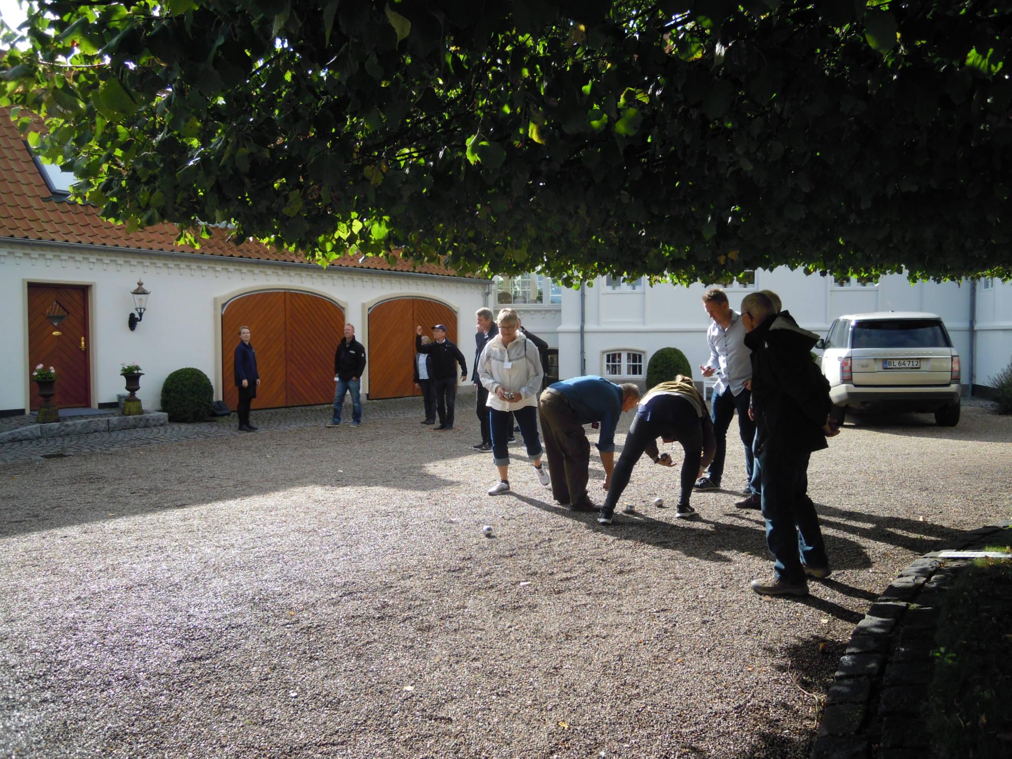 Petanque på Bolting Gård Gods