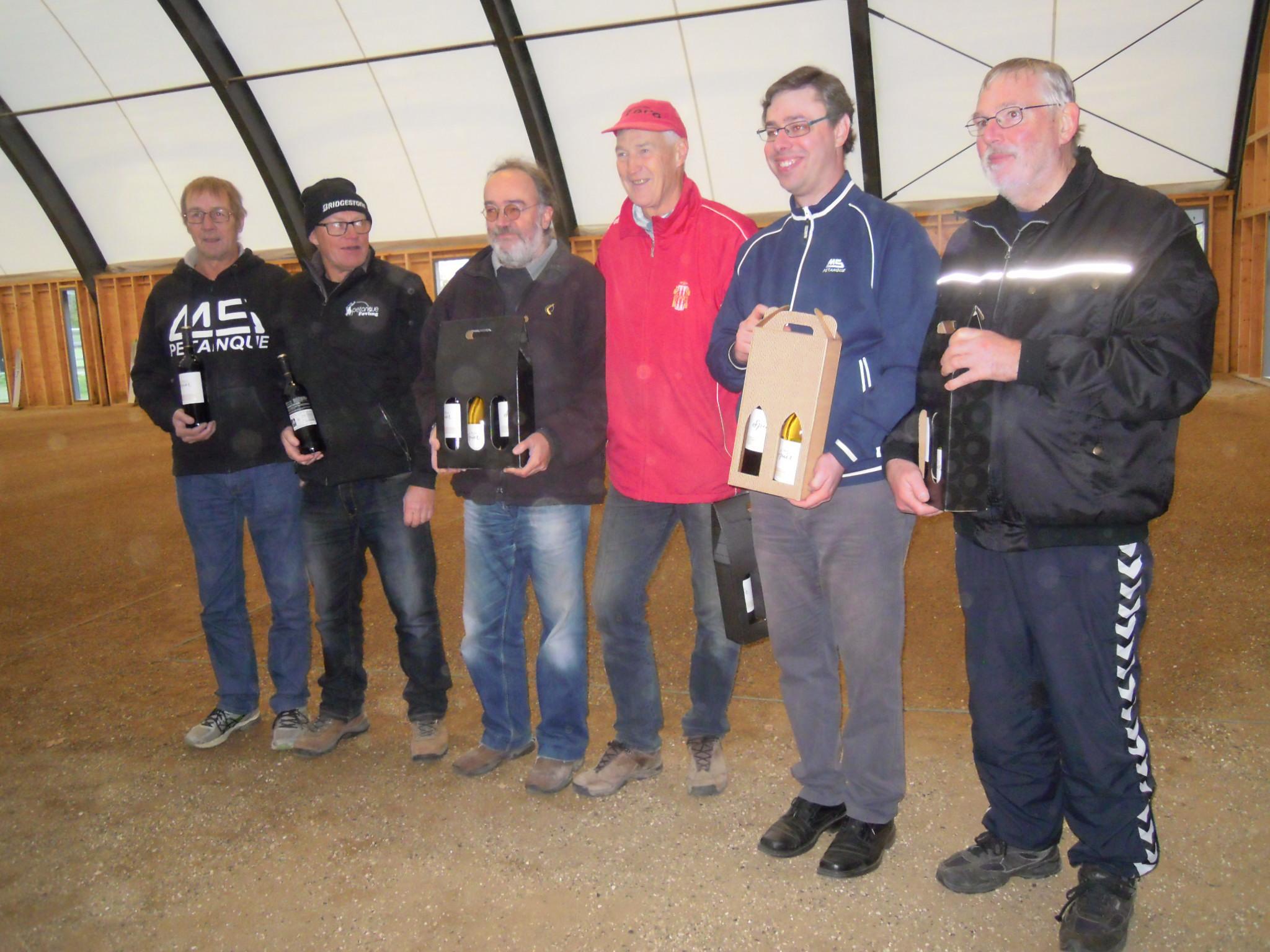 nr. 3Kim Frost og Claus Kùlmbach,nr.1 Pierre Tassone OPK og Torben Vous Bradbrand, nr. 2 Philip og Henrik Malmos Faldsled,Svanninge
