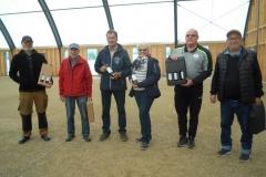 Septemberstævne nr. 2 John og Flemming Ulbølle,nr. 3 Peder og Ingrid Midtfyns, nr. 1. Klaus og Rafael Oluf Pile